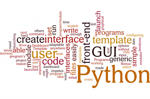 Wordle for using Python to create a GUI for launching CLI programs